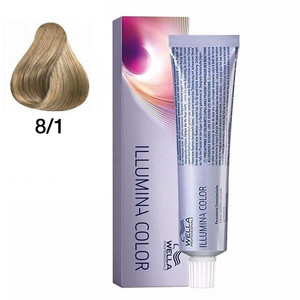 WELLA COLORAÇÃO ILLUMINA COLOR 8/1