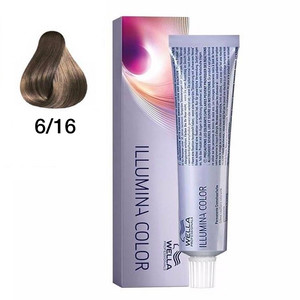 WELLA COLORAÇÃO ILLUMINA COLOR 6/16