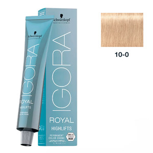 SCHWARZKOPF PROFESSIONAL COLORAÇÃO IGORA ROYAL HIGHLIFTS 10-0