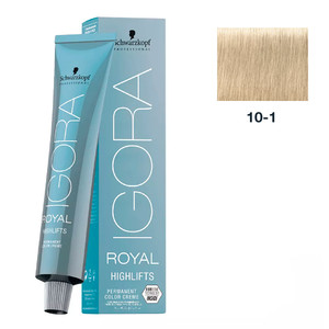 SCHWARZKOPF PROFESSIONAL COLORAÇÃO IGORA ROYAL HIGHLIFTS 10-1