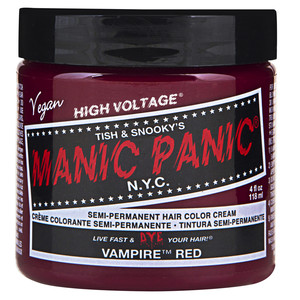 MANIC PANIC COLORAÇÃO SEMI PERMANENTE - VAMPIRE RED