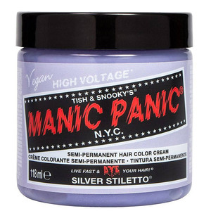 MANIC PANIC COLORAÇÃO SEMI PERMANENTE - SILVER STILETTO