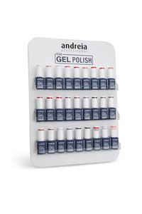 ANDREIA GEL POLISH PRO DESK DISPLAY