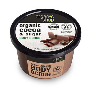 ORGANIC SHOP Esfoliante Corporal de Chocolate Belga