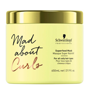 SCHWARZKOPF PROFESSIONAL MAD ABOUT CURLS SUPERFOOD MÁSCARA