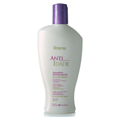 AMEND SHAMPOO REVITALIZANTE ANTI-IDADE