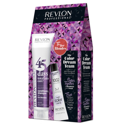 REVLON PACK 45DAYS + NUTRI COLOR ICE BLONDES