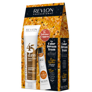 REVLON PACK 45DAYS + NUTRI COLOR INTENSE COPPERS