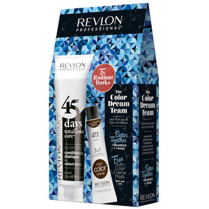 REVLON PACK 45DAYS + NUTRI COLOR - RADIANT DARKS