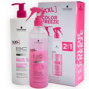 SCHWARZKOPF BC BONACURE PACK COLOR FREEZE