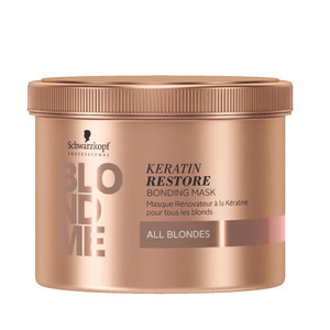 SCHWARZKOPF BLOND ME BONDING KERATIN RESTORE MÁSCARA – ALL BLONDES
