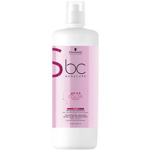 SCHWARZKOPF PROFESSIONAL BC PH4.5 COLOR FREEZE CHAMPÔ ENRIQUECIDO