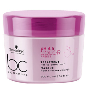 SCHWARZKOPF PROFESSIONAL BC pH4.5 COLOR FREEZE MÁSCARA