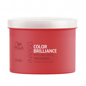 WELLA INVIGO BRILLIANCE MÁSCARA COR INTENSA - CABELO FINO/NORMAL