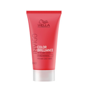 WELLA INVIGO BRILLIANCE MÁSCARA COR - CABELO FINO/NORMAL TRAVEL SIZE