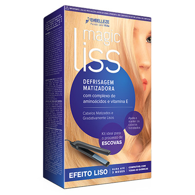 MAGIC LISS ESCOVA MATIZADORA KIT