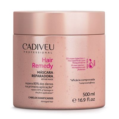 CADIVEU HAIR REMEDY MÁSCARA REPARADORA
