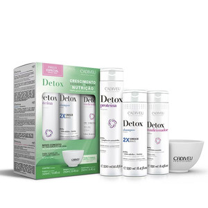 CADIVEU DETOX KIT HOME CARE
