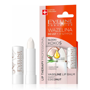 EVELINE LIP THERAPY VASELINE LIP BALM SWEET COCONUT