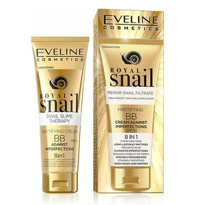 EVELINE ROYAL SNAIL - BB CREAM AGAINST IMPERFECTIONS 8 EM 1
