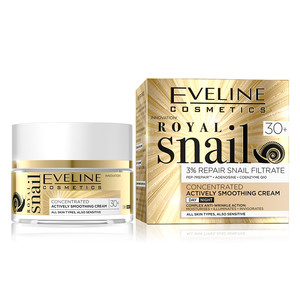 EVELINE ROYAL SNAIL DAY AND NIGHT CREAM 30+