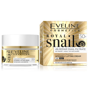 EVELINE ROYAL SNAIL DAY AND NIGHT CREAM 50+