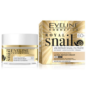 EVELINE ROYAL SNAIL DAY AND NIGHT CREAM 60+