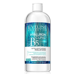EVELINE HYALURON CLINIC - MICELLAR WATER