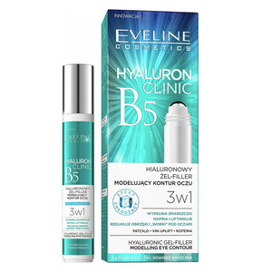 EVELINE HYALURON CLINIC - ROLL-ON EYE GEL