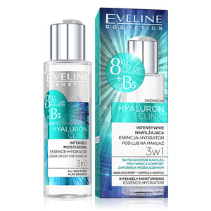 EVELINE HYALURON CLINIC ESSENCE-HYDRATOR 3IN1