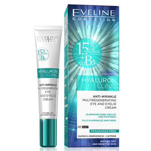 EVELINE HYALURON CLINIC - ESSENCE EYE AND EYELID CREAM