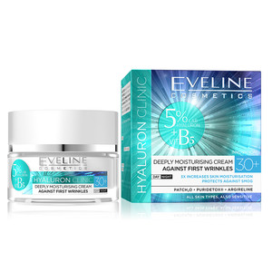 EVELINE HYALURON CLINIC DAY AND NIGHT CREAM 30+