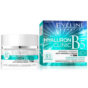 EVELINE HYALURON CLINIC DAY AND NIGHT CREAM 40+