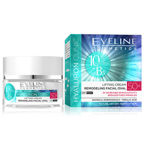 EVELINE HYALURON CLINIC DAY AND NIGHT CREAM 50+