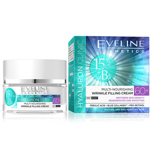 EVELINE HYALURON CLINIC DAY AND NIGHT CREAM 60+