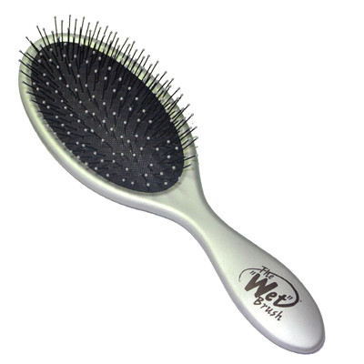 ESCOVA WET BRUSH METALLIC PRATA
