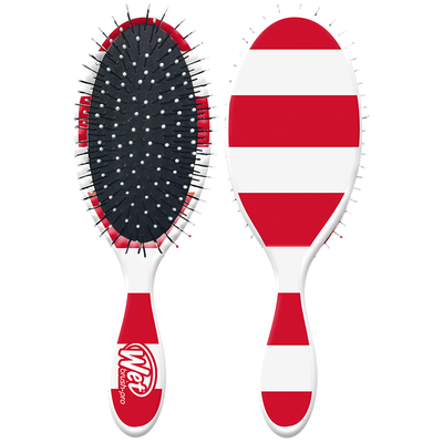 ESCOVA WET BRUSH NAUTICAL STRIPED RED