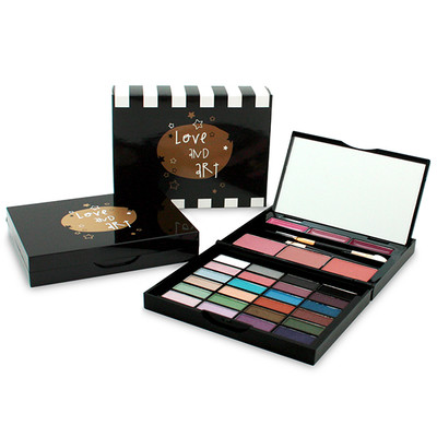 LOVE AND ART 24 M/B (24 SOMBRAS/3 BLUSH/3 LIP GLOSS)
