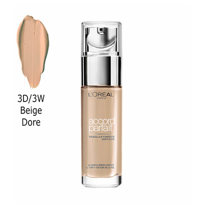 L'ORÉAL PARIS BASE ACCORD PARFAIT - 3D/3W BEIGE DORE