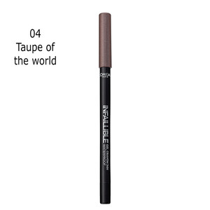 L'ORÉAL PARIS LINER INFALIBLE GEL CRAYON - 04 Taupe of the world
