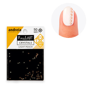 ANDREIA CRYSTALS LIGHT PEACH 3