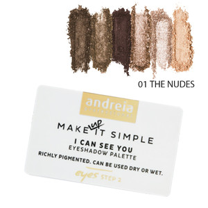 ANDREIA I CAN SEE YOU - EYESHADOW PALETTE 01