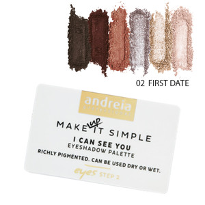 ANDREIA I CAN SEE YOU - EYESHADOW PALETTE 02