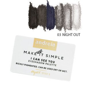 ANDREIA I CAN SEE YOU - EYESHADOW PALETTE 03