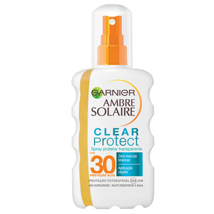 AMBRE SOLAIRE SPRAY CLEAR PROTECT FPS 30