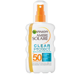 AMBRE SOLAIRE SPRAY CLEAR PROTECT FPS 50+