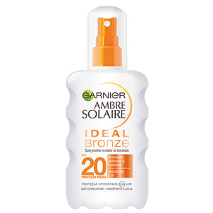 AMBRE SOLAIRE SPRAY IDEAL BRONZE FPS 20