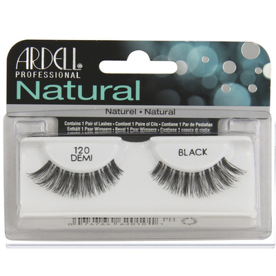 ARDELL NATURAL LASHES - 120 BLACK DEMI