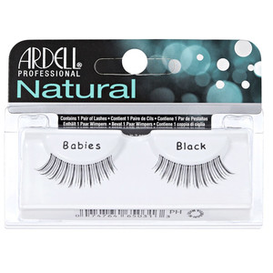 ARDELL NATURAL LASHES BABIES - BLACK
