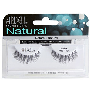 ARDELL NATURAL LASHES BABY WISPIES - BLACK